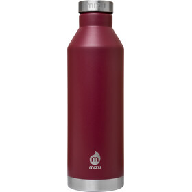 MIZU V8 Drinkfles with Stainless Steel Cap 800ml rood